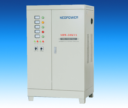 Single phase voltage stabilizer DBW series
